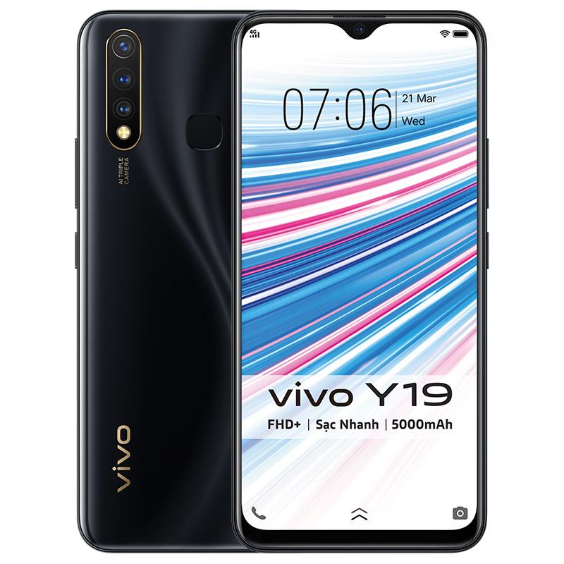 Điện thoại vivo Y19 với tính năng bảo mật cao