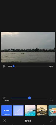 Chèn nhạc cho video time-lapse thêm sinh động