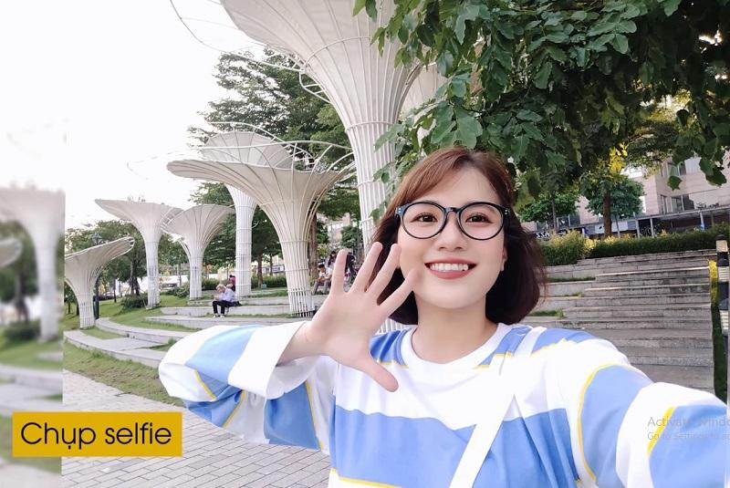 Chụp selfie góc rộng với vivo V17 Pro