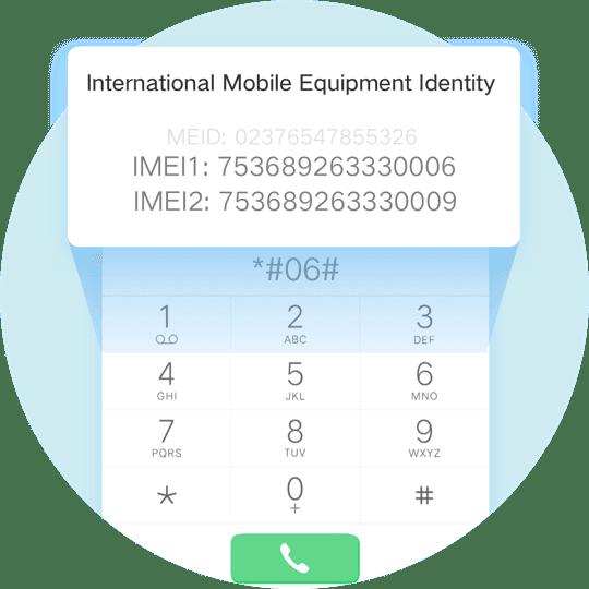 Check IMEI vivo qua mã USSD bằng trình quay số